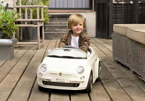El auténtico Fiat 500 Ride-On para los peques de la casa