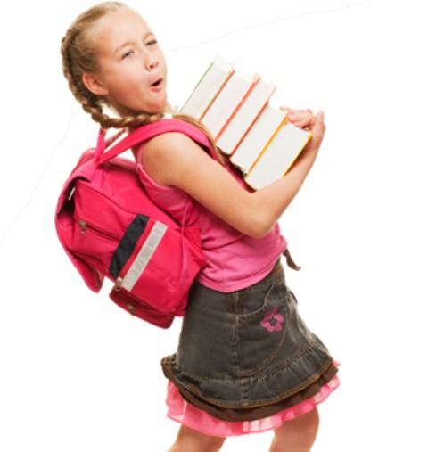 Evitar La Sobrecarga En Las Mochilas Escolares
