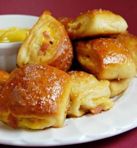 Receta para niños: Saladitos de jamón york y queso