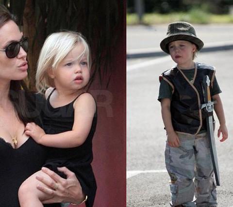 La hija de Brad y Angelina, Shiloh, quiere ser un niño