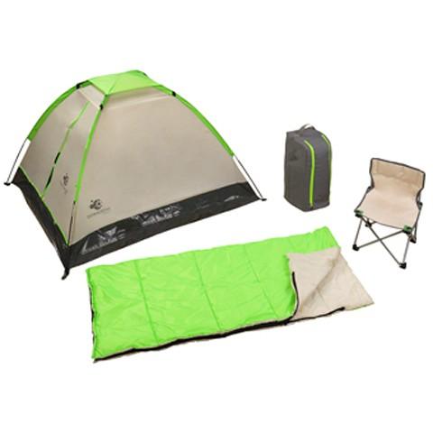 Trek-camping-base para los niños amantes de la naturaleza