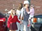 Los famosos llevan a sus hijos al cole en su primer día