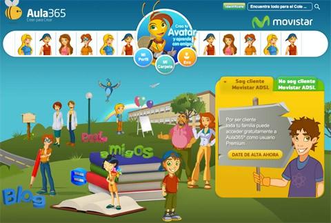 Nace Aula 365, un servicio interactivo de apoyo escolar