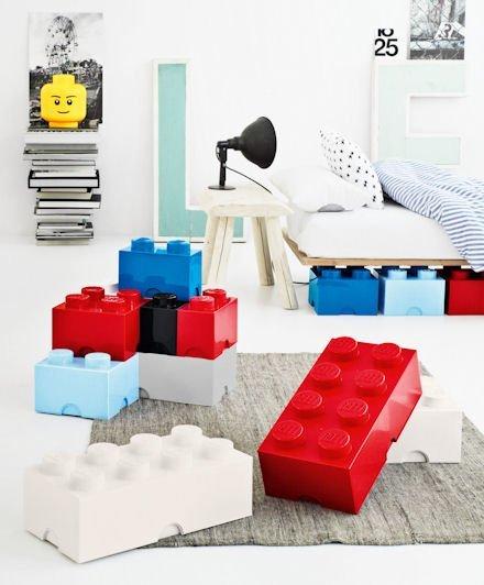 Cajas Lego, una divertida manera de organizarlo todo