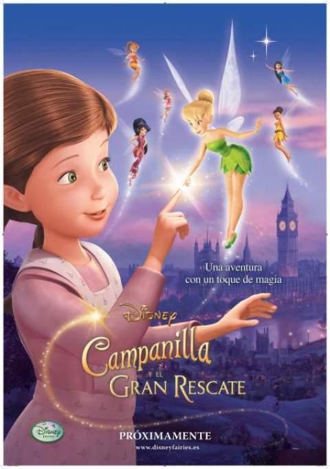 cine infantil campanilla y el gran rescate