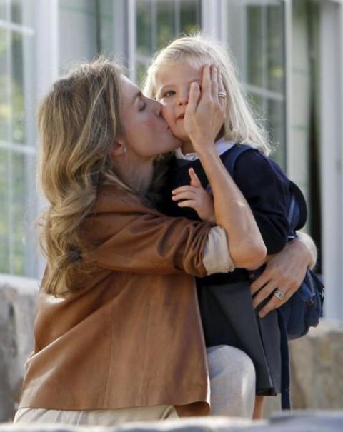 La infanta Sofía va por primera vez al cole de mayores