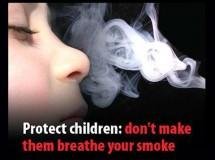 El Gobierno Vasco planea prohibir fumar en coches con niños