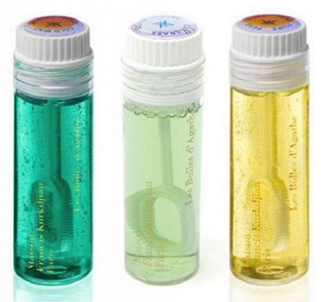 Pompas de jabón con perfume para los peques