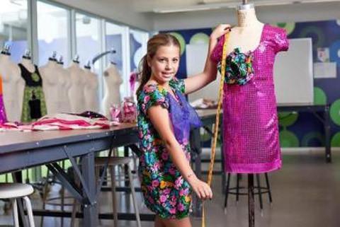 Otra niña prodigio de la moda, Cecilia Cassini