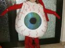Disfraz casero para Halloween: Ojo