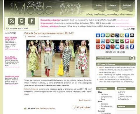 Llega el blog más actual, Doble Moda
