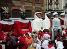 Exposición de los gigantes de Pamplona en el palacio Condestable