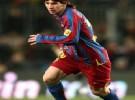 Leo Messi con los niños en el Vall d'Hebrón