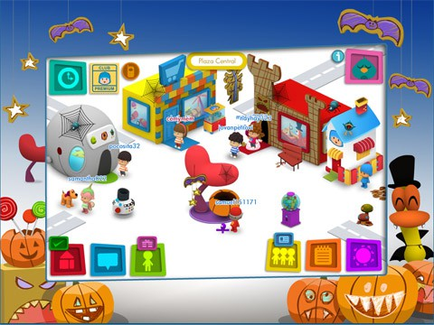 Pocoyó también celebra Halloween