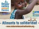 Restaurantes contra el hambre, una iniciativa para luchar contra la desnutrición infantil