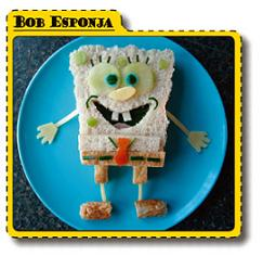 Sandwich Bob Esponja