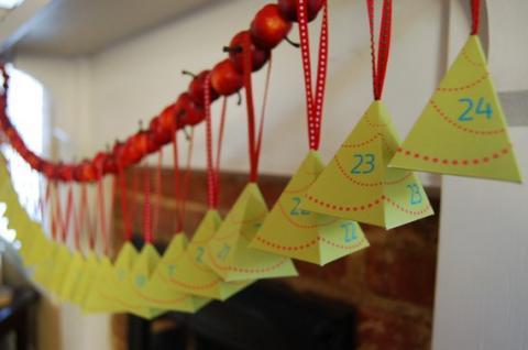 Manualidades para Navidad: Otro Calendario de Adviento
