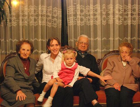 Visita de fin de semana a la familia