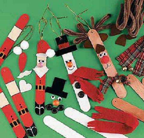 Manualidades con niños: Ideas para decorar el ábol de Navidad