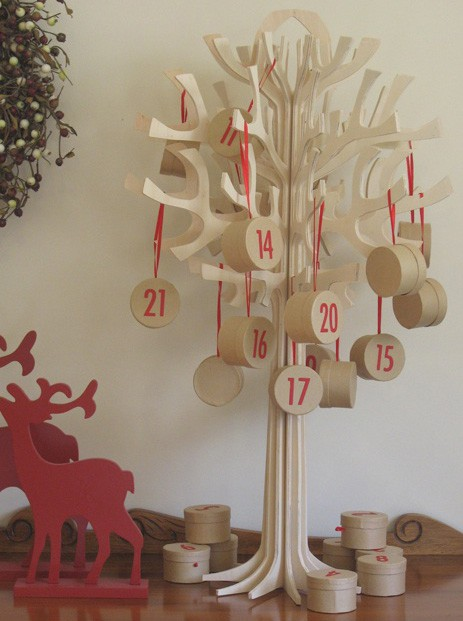 Manualidades para navidad calendario de adviento - Manualidades para navidades ...
