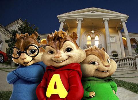 Televisión en familia: Alvin y las ardillas