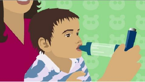 El asma puede afectar a la capacidad lectora del niño