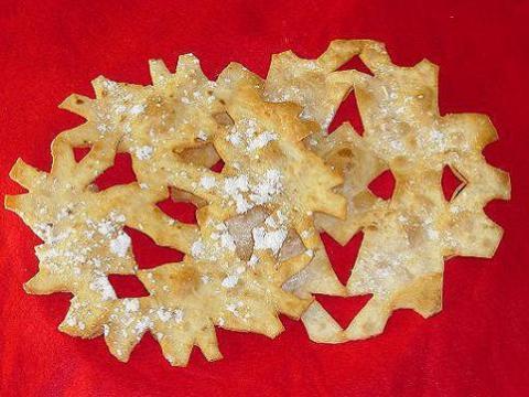 Receta para niños: Copos de nieve comestibles