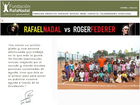 La Fundación Rafa Nadal, una ayuda a niños discapacitados