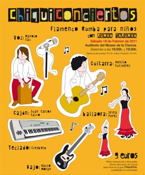 Concierto de flamenco para niños en Valladolid