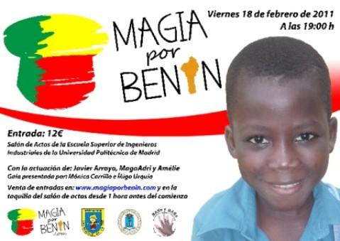 Magia solidaria para escolarizar a niños en Benín