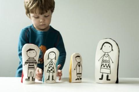 Manualidades con niños: Títeres de guante
