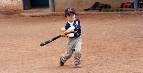 A mi hijo no le gustan los deportes