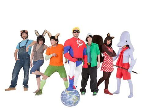 Teatro familiar: Héroes de pacotilla