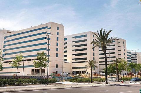 En el nuevo hospital La Fé de Valencia no han pensado en los niños