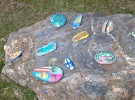 Manualidades con niños: Piedras pintadas