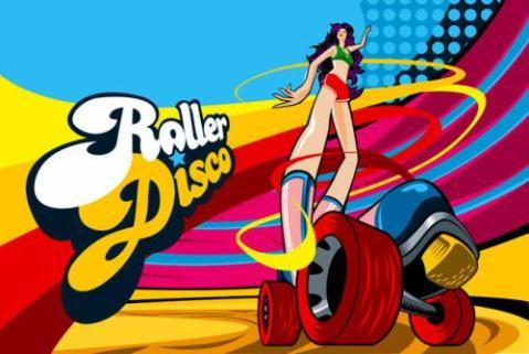 Bailar sobre patines en una Roller Disco para toda la familia