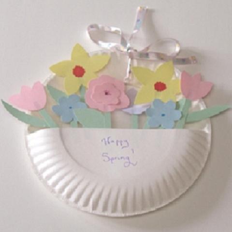 Ideas para el Día de la Madre: Un decorativo ramo de flores