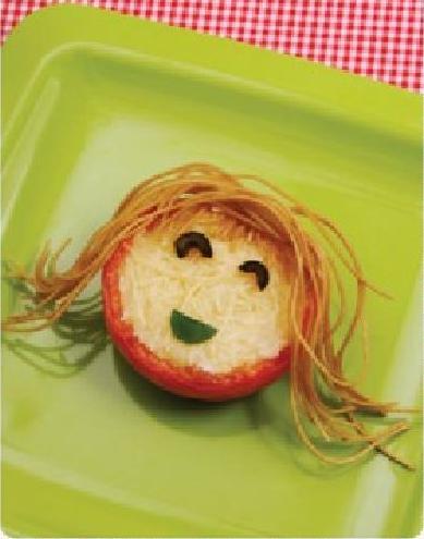 Receta para niños: caritas de tomate