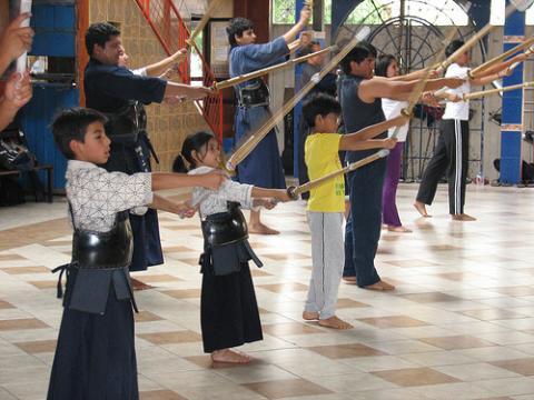 Artes marciales: kendo