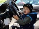 Pillado conduciendo borracho con sólo nueve años
