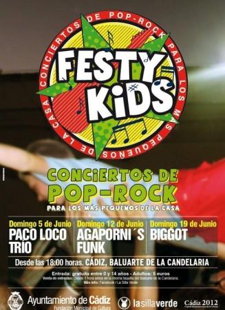 Festykids rock para niños