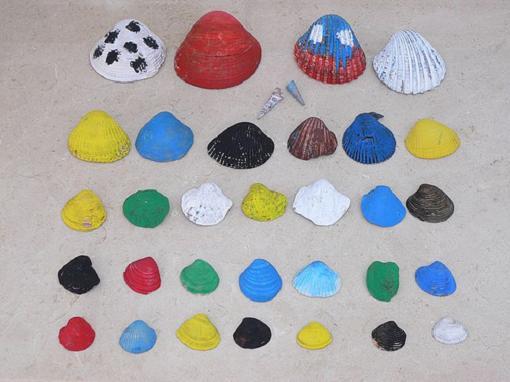 Ideas para reciclar conchas con los niños