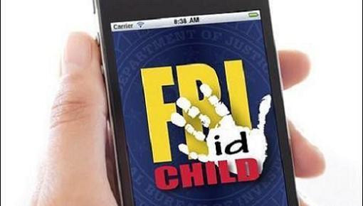 Nueva aplicación del FBI para localizar niños