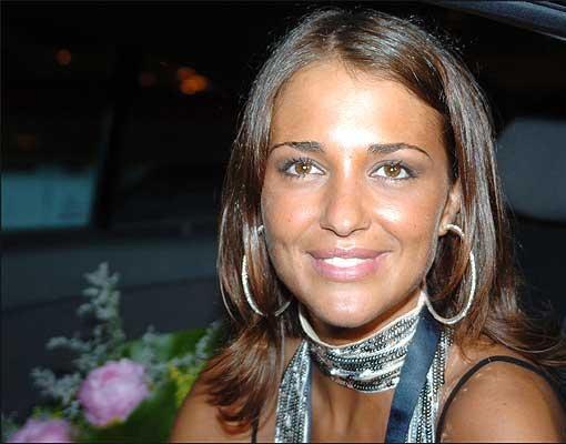 Paula Echevarría en Candás