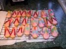 Receta para niños: Sandalias de galleta