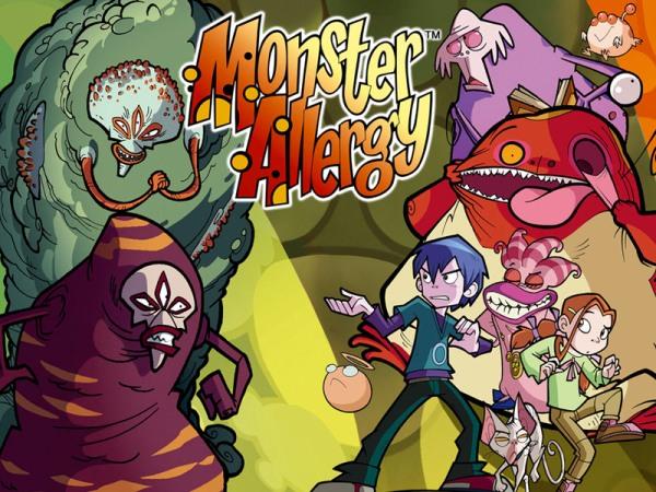 Monster Allergy un liibro de comic para los niños