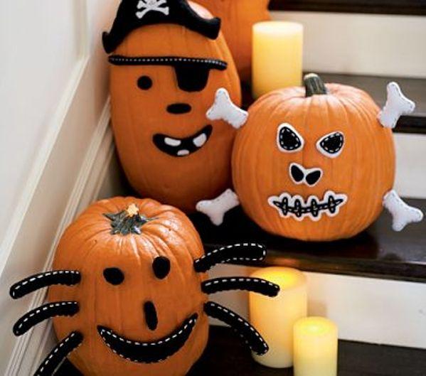 Decoraciones ingeniosas para Halloween y su calabaza