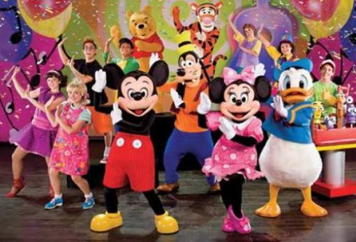 Arranca el nuevo espectáculo de Disney