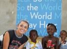 Miley Cyrus visita Haití