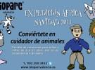Talleres navideños: Expedición África en Bioparc